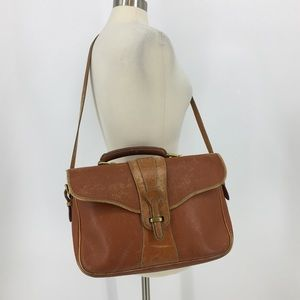 Vintage Distressed Dooney & Bourke Messenger Bag